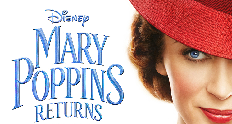 Roztańczona Mary Poppins na nowym zdjęciu z filmu Disneya