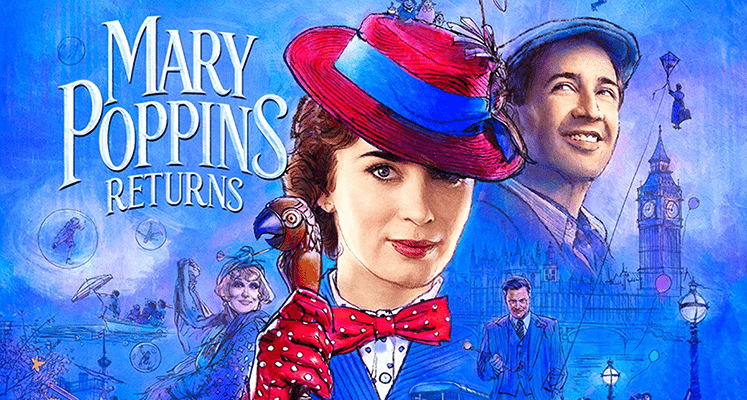 Mary Poppins czaruje w nowym zwiastunie filmu Disneya