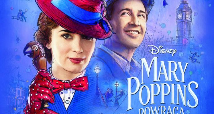 """Konkurs - wygraj soundtrack """"Mary Poppins powraca"""" na CD!"""