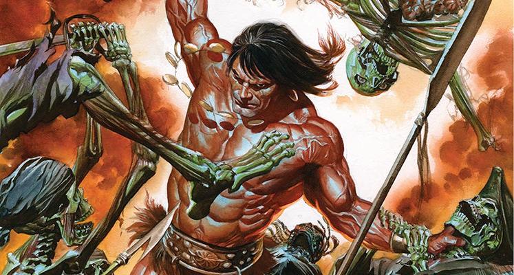 """""""Conan – Miecz Barbarzyńcy"""" tom 1: """"Kult Kogi Thuna"""" – recenzja komiksu"""
