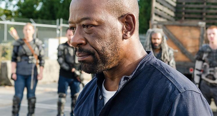 Morgan na pierwszym zdjęciu z Fear the Walking Dead