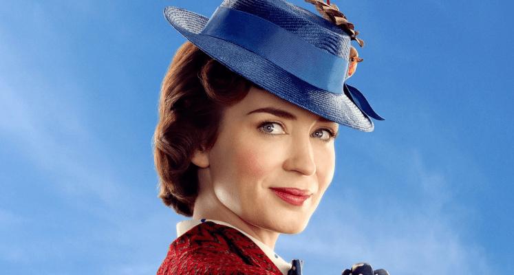 Główna bohaterka filmu Mary Poppins na okładce magazynu Entertainment Weekly
