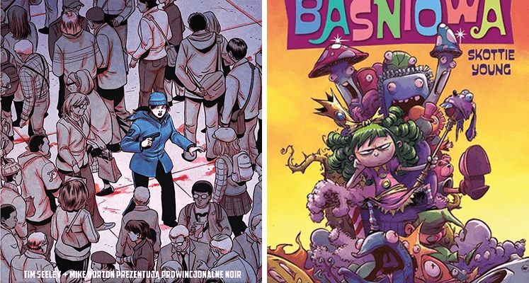 Przegląd styczniowych nowości od Non Stop Comics