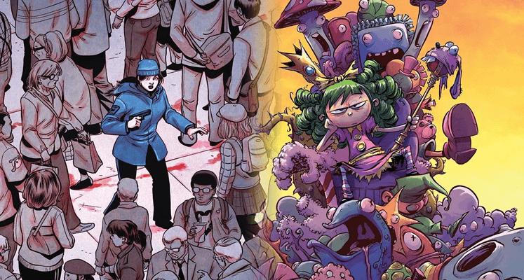 Styczniowe premiery od Non Stop Comics - prezentacje komiksów