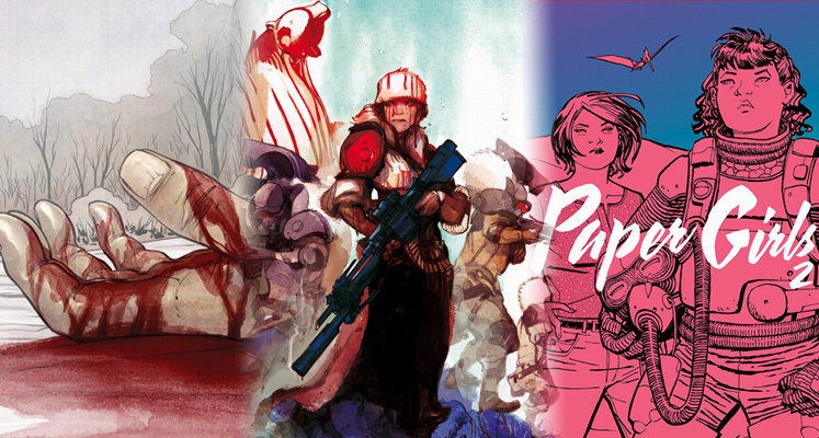 Odrodzenie tom 2, Głębia tom 2 i Paper Girls tom 2 - prezentacje komiksów