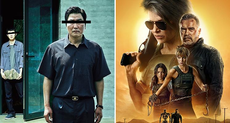"""Filmowe premiery tygodnia 23.03-29.03: """"Na noże"""", """"Parasite"""", """"Terminator"""" i inne"""