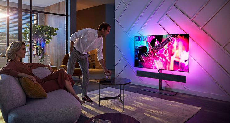 Philips prezentuje flagowe modele telewizorów OLED+934 i OLED+984