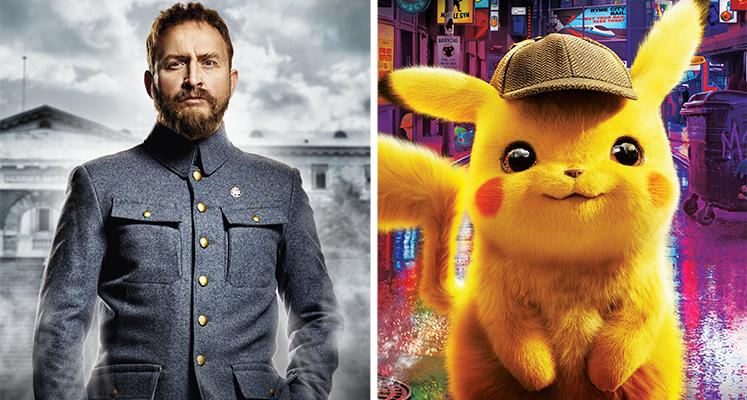 """Filmowe premiery tygodnia 09.09-15.09: """"Detektyw Pikachu"""", """"Piłsudski"""" i inne"""