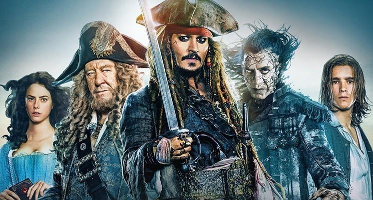 """Konkurs - wygraj film """"Piraci z Karaibów: Zemsta Salazara"""" na DVD!"""