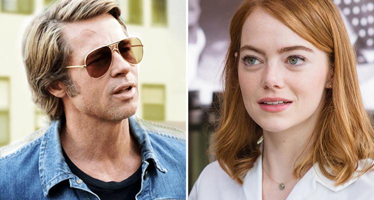Brad Pitt i Emma Stone w filmie Damiena Chazelle'a? Znamy datę premiery