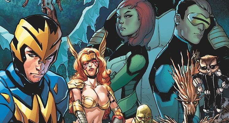 Guardians of the Galaxy / All-New X-Men: Proces Jean Grey - prezentacja komiksu