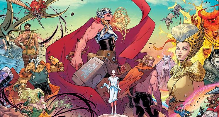 Potężna Thor tom 1: Grzmiąca krew - recenzja komiksu