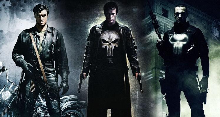 Trzej Punisherowie, czyli przypomnienie filmów z Frankiem Castle'em
