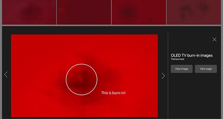 Samsung znowu uderza w wypalenia telewizorów OLED