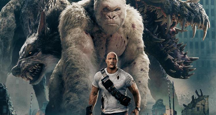Box Office - The Rock i gigantyczne potwory szaleją
