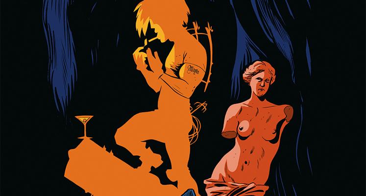 Rapp tom 1: Zaginione dzienniki Tesli - prezentacja komiksu