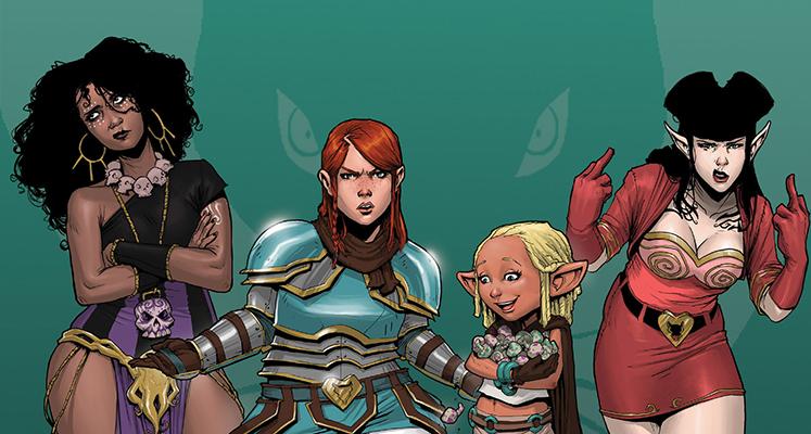 Rat Queens tom 1: Magią i maskarą - recenzja komiksu