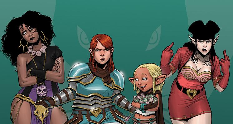 Rat Queens tom 2: Dalekosiężne macki N'Rygotha - recenzja komiksu