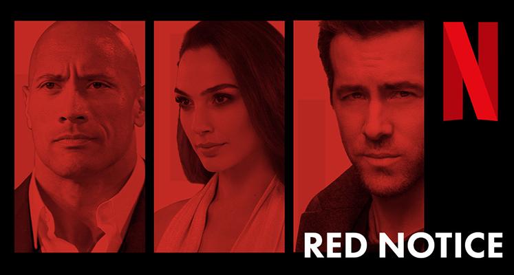 """Ryan Reynolds i Dwayne Johnson na nowych zdjęciach z """"Red Notice"""""""