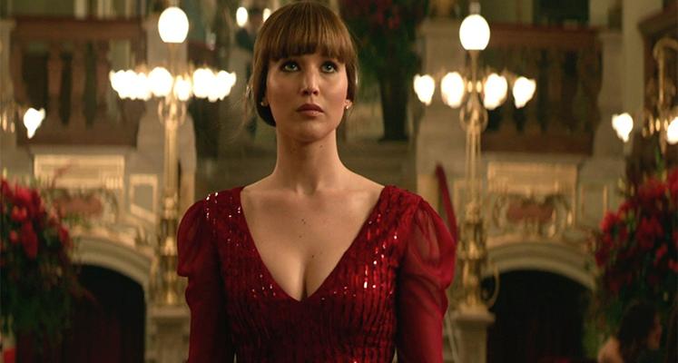 Jennifer Lawrence w nowym spocie Red Sparrow