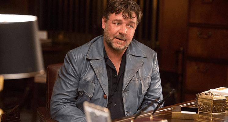 Russell Crowe jako podstarzały Roger Ailes na pierwszym zdjęciu z serialu Showtime