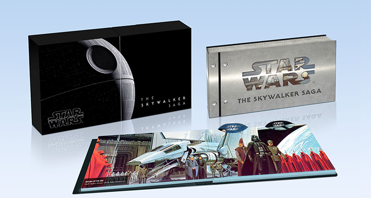 """""""Saga Skywalkerów"""" i """"Skywalker. Odrodzenie"""" – wygląd wydań DVD, Blu-ray i 4K UHD"""