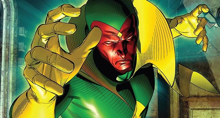 Superbohaterowie Marvela#15: Vision - prezentacja komiksu