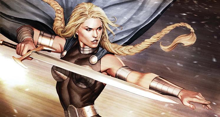 Superbohaterowie Marvela#18: Walkiria - prezentacja komiksu