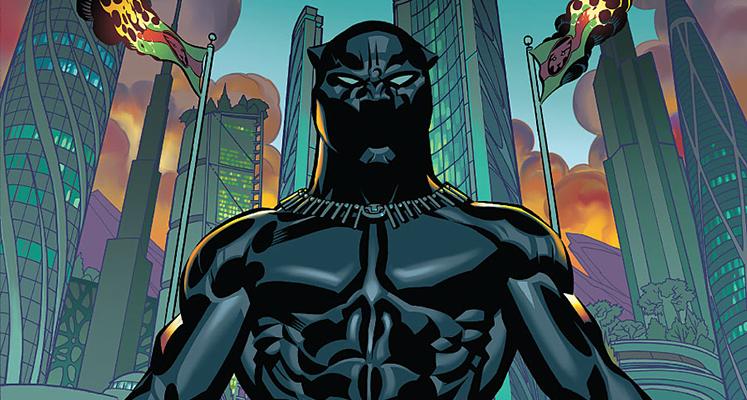 Superbohaterowie Marvela#21: Czarna pantera - prezentacja komiksu