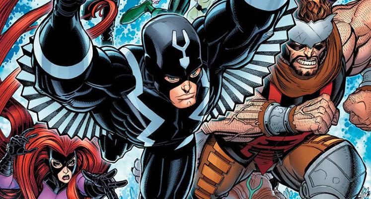 Superbohaterowie Marvela#29: Inhumans - prezentacja komiksu