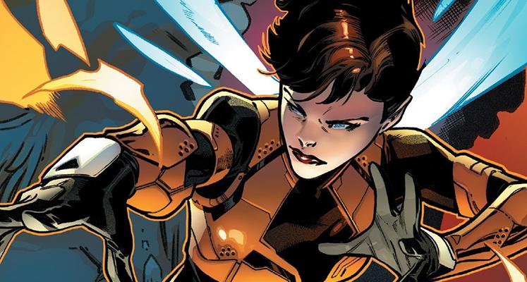 Superbohaterowie Marvela#36: Wasp - prezentacja komiksu