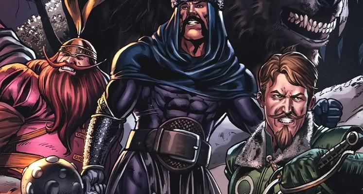 Superbohaterowie Marvela#9: Wojów Trzech - prezentacja komiksu