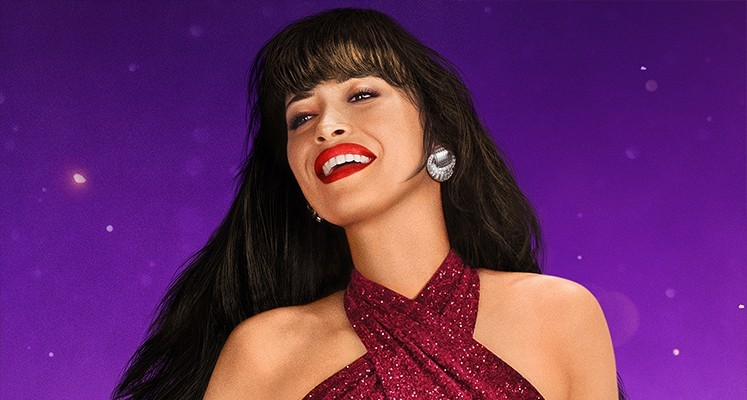 "Christian Serratos jako Selena Quintanilla-Pérez w serialu ""Selena"""