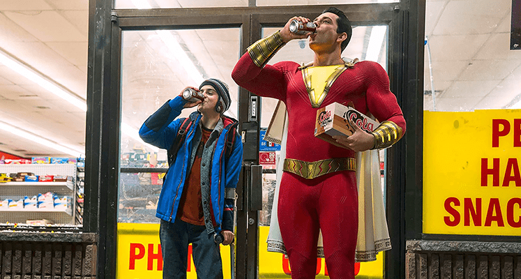 Shazam kontra Doktor Sivana na nowych zdjęciach z komiksowej produkcji DC