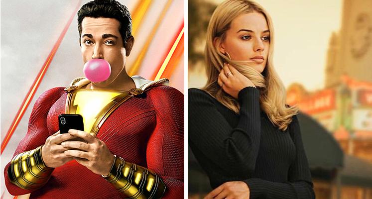 """Filmowe premiery tygodnia 12.08-18.08:  """"Shazam!"""", """"Hellboy"""", nowy Tarantino i inne"""