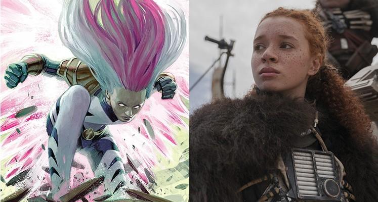 """Erin Kellyman jako członkini drużyny Thunderbolts w serialu """"Falcon i Zimowy żołnierz""""?"""