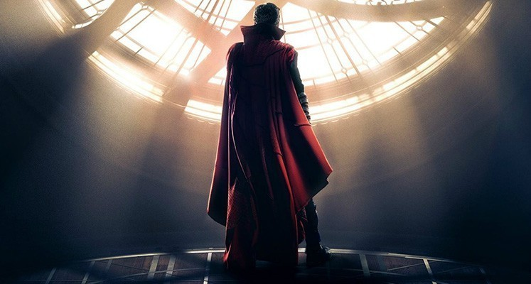 Alternatywny wygląd peleryny Doktora Strange'a na nowej grafice