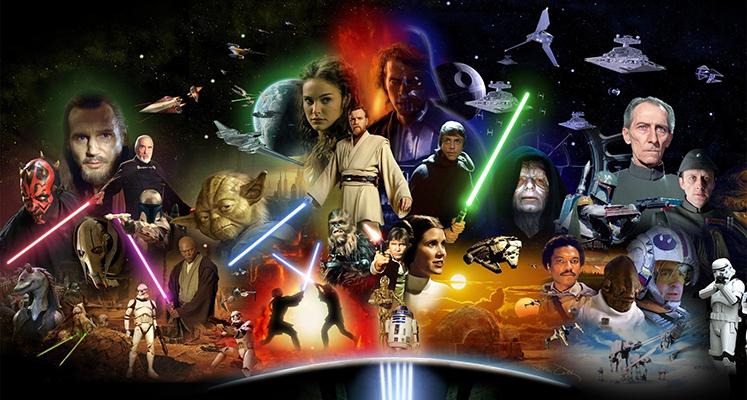 """""""Gwiezdne wojny"""" w zbiorczym wydaniu 4K UHD. Data premiery całej sagi Skywalkerów!"""