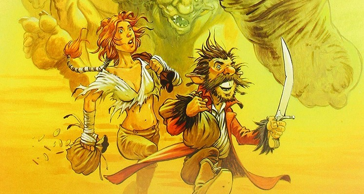 """""""Świat Dryftu"""" tom 1: """"Opowieść o złodziejach i trollach"""" – recenzja komiksu. Wielka improwizacja w klimatach fantasy"""