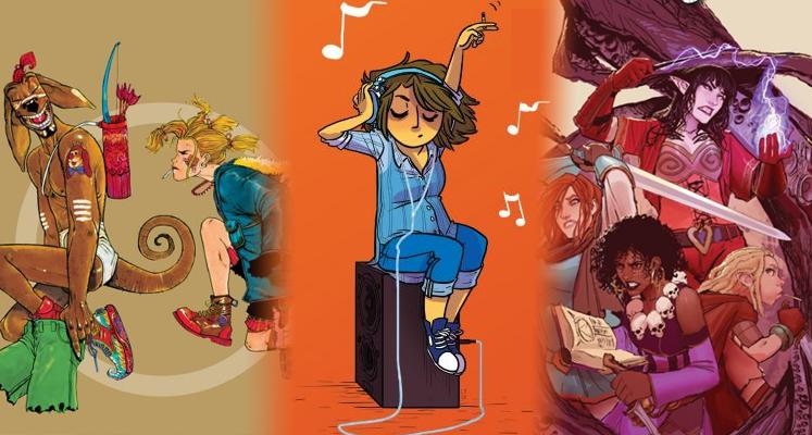 Tank Girl tom 2, Giant Days tom 2 i Rat Queens tom 2 - prezentacje komiksów