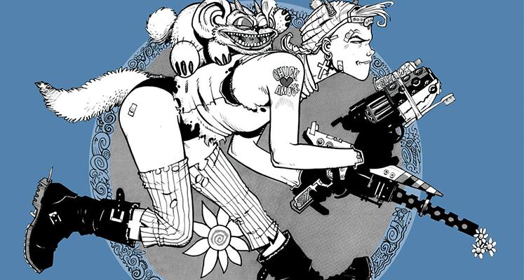 Tank Girl tom 1 - recenzja komiksu