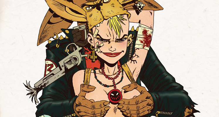 Tank Girl tom 3 - recenzja komiksu