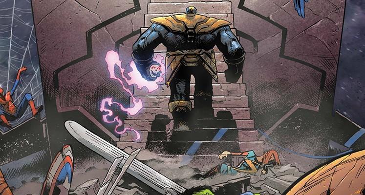 """""""Thanos"""" tom 2 – recenzja komiksu. Pojedynek Tytanów"""