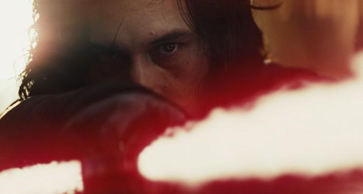 Kylo Ren i Rey na ruchomych plaktach do nowych Gwiezdnych Wojen