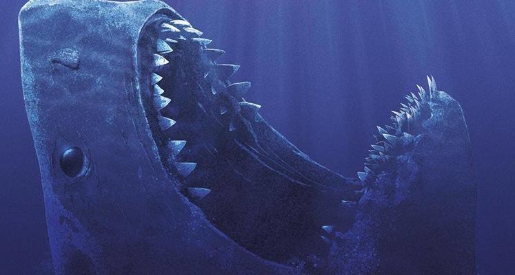 Wielki rekin straszy ostrymi zębiskami na nowym plakacie The Meg