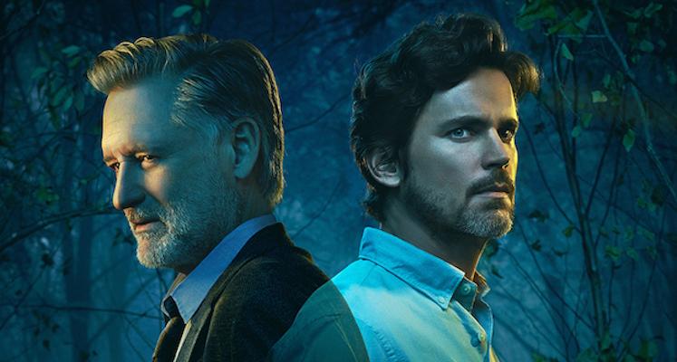"Bill Pullman jako Harry Ambrose i Matt Bomer jako Jamie w serialu ""The Sinner"""