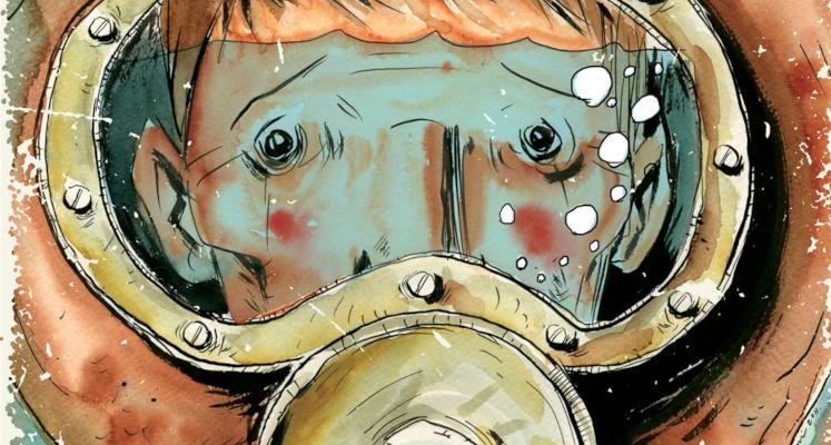 Podwodny Spawacz - najnowsza komiksowa zapowiedź od wydawnictwa KBOOM