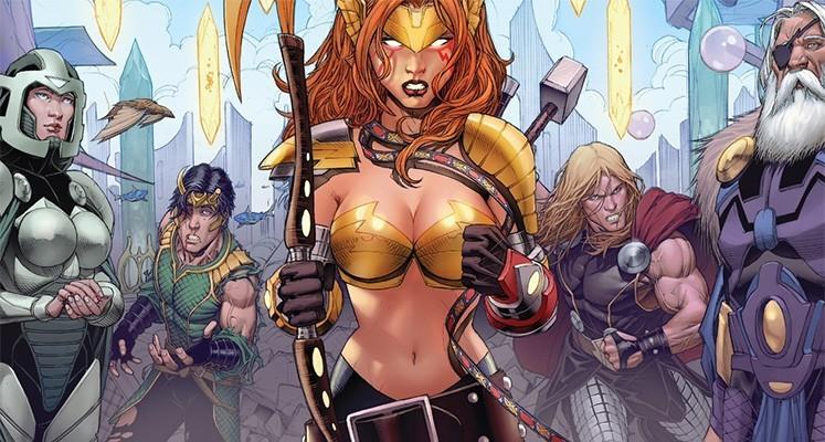 Thor i Loki - Dziesiąty świat: Grzech pierworodny - prezentacja komiksu