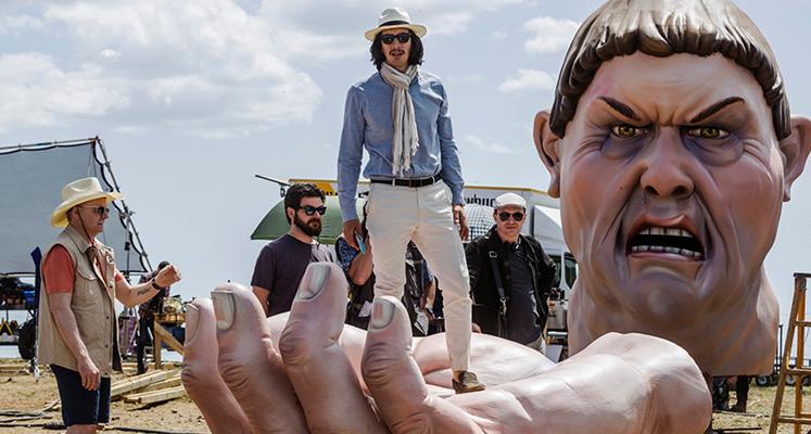 Adam Driver w nowym zwiastunie filmu Człowiek, który zabił Don Kichota