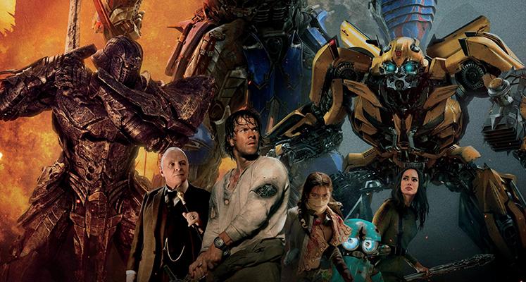 Transformers kolekcja pięciu filmów na 4K UHD za £32